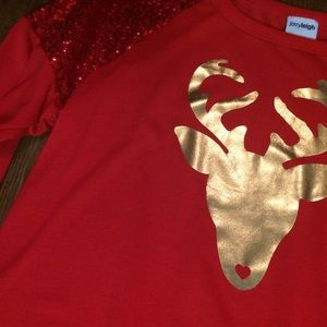 Jerry Leigh Tops - Festive and Cute! 🎄Sequin Christmas Sweater XL🎄